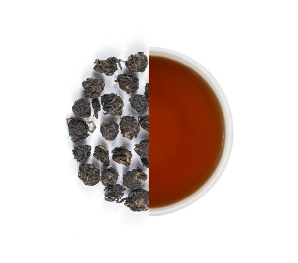 Pearl black tea